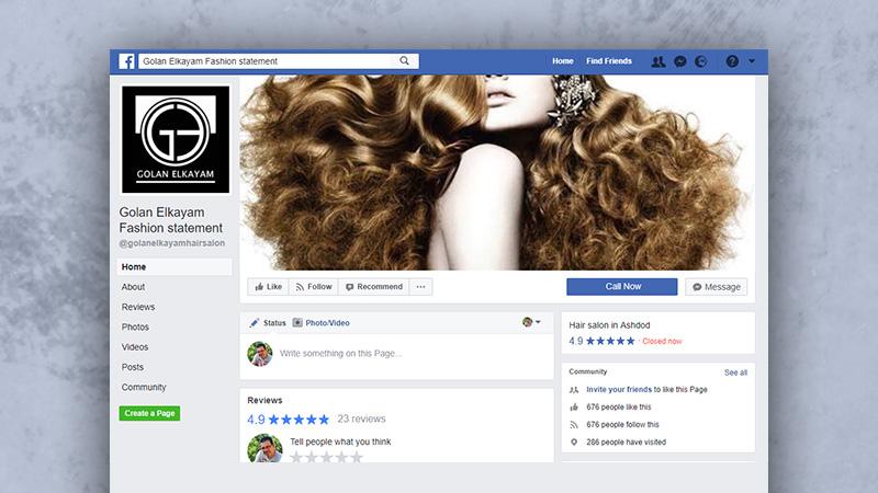 רשתות חברתיות - גולן אלקיים